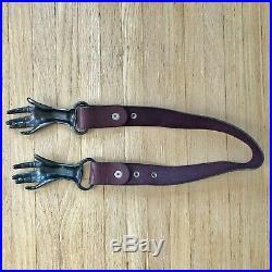1970s Victorian Hand Clasp Belt