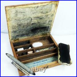 ANTIQUE Artists REEVES & Sons 1899 dated hand held stumping VINTAGE paintbox