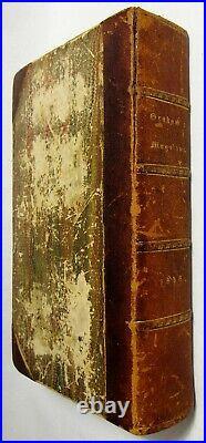 Antique 1848 EDGAR ALLAN POE Hand Colored GRAHAM'S MAGAZINE Marginalia 1ST PRINT