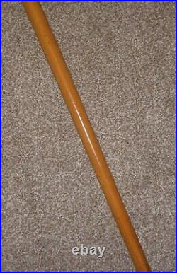 Antique H/M Silver 1895 Gadget Cane (DICE SHAKER)- Hand Carved Jockey Top 84cm