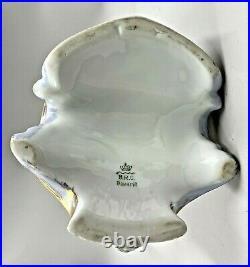 Antique Hand-painted Bavaria Porcelain Tankard Pitcher Bauer, Rosenthal & Co
