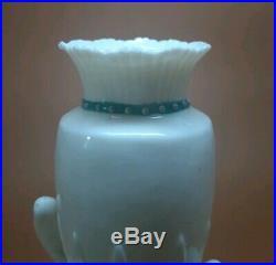 Antique Parian Ware Porcelain Figurine Victorian Hand Spill Vase 8 Amphora