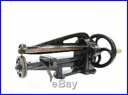 Antique Victorian Cast Iron Attila Leather Cutter Workers Saddlers Hand Machine
