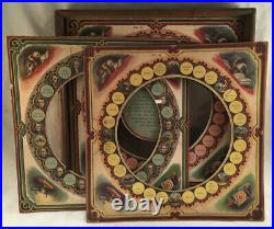 Antique Victorian Chiromagica Game Mcloughlin Bros. Hand Of Fate Black Magic