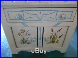 Antique Victorian Cottage Style Hand Painted Miniature Doll Furniture
