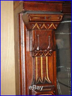 Antique Victorian Hand Carved Pier Mirror