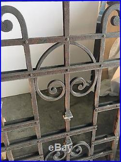 Blacksmith Wrought Iron Victorian Balcony, Railings, Balustrade, Gate Hand Made