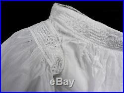 CIVIL War Era Young Girls Summer Bodice For Dress W Rich Hand Embroidery