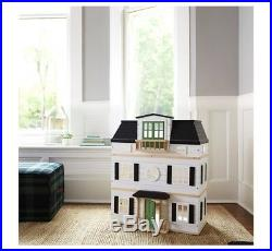 Hearth and Hand with Magnolia Wooden Dollhouse with Furniture