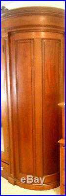 MAGNIFICENT WALNUT ARMOIRE HAND CRAFTED CIRCA 1880's VICTORIAN MARIETTA PA