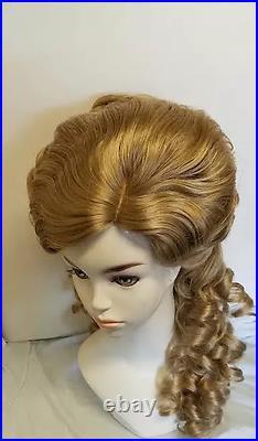 Penelope Titanic era 1912 Victorian wig sass new hand made