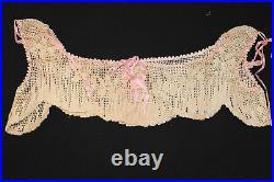 Rare Large Sz Victorian Hand Crochet Lace Camisole Top
