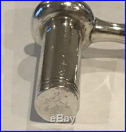 Stunning Solid Sterling Silver Asprey London 1994 Corkscrew Hand Made In England