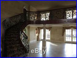 The Best Hand Made Wrought Iron Victorian Style Estate Balcony Railings Jb5