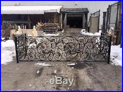 The Best Hand Made Wrought Iron Victorian Style Estate Balcony Railings Rk5