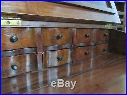 Victorian Davenport Ship Captains Desk Hand Carved Ornate Dovetailed AS FOUND