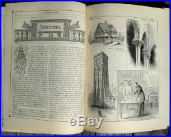 Victorian Etiquette Manners Cook Book 1887 Home Farm Hand Writing Penmanship