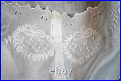 Victorian French Step In Teddy Lingerie, Hand Embroidery Underwear