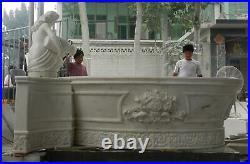World Class Hand Carved Marble Estate Victorian European Bath Tub Bmt1